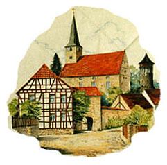 Kirchenburg Vachdorf