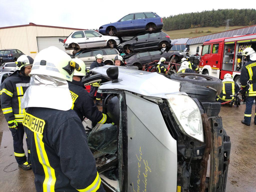 Fahrzeug Frontscheibe entfernt